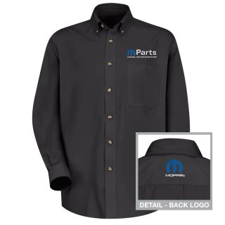 Mopar Mens Long Sleeve Meridian Performance Twill Shirt - 1469BK-