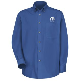 Mopar Mens Long Sleeve Meridian Performance Twill Shirt - 1470RB-