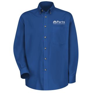 Mopar Mens Long Sleeve Meridian Performance Twill Shirt - 1471RB-Red Kap®