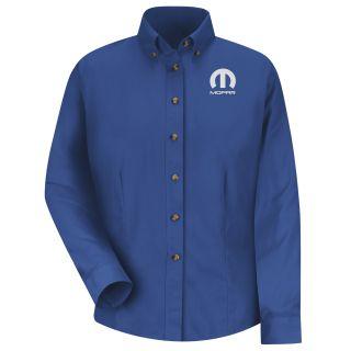 Mopar Womens Long Sleeve Meridian Performance Twill Shirt - 1479RB-