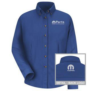 Mopar Womens Long Sleeve Meridian Performance Twill Shirt - 1481RB-