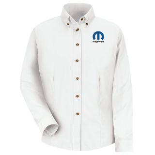 Mopar Womens Long Sleeve Meridian Performance Twill Shirt - 1482WH-