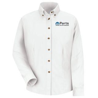 Mopar Womens Long Sleeve Meridian Performance Twill Shirt - 1483WH-