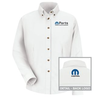 Mopar Womens Long Sleeve Meridian Performance Twill Shirt - 1484WH-