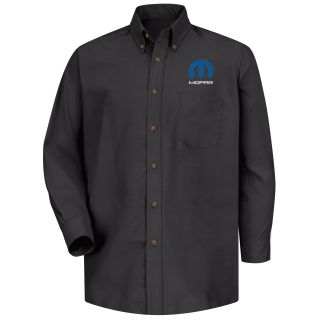 Mopar Mens Short Sleeve Poplin Dress Shirt - 1485BK-