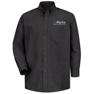 Mopar Mens Short Sleeve Poplin Dress Shirt - 1486BK-