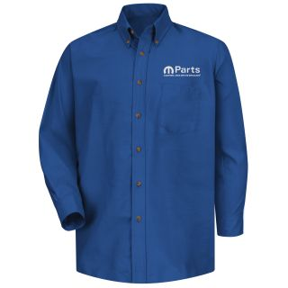 Mopar Mens Short Sleeve Poplin Dress Shirt - 1489RB-
