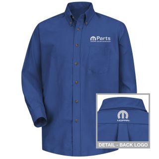 Mopar Mens Short Sleeve Poplin Dress Shirt - 1490RB-