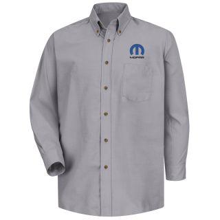 Mopar Mens Short Sleeve Poplin Dress Shirt - 1491SV-