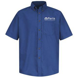 Mopar Mens Short Sleeve Poplin Dress Shirt - 1501RB-