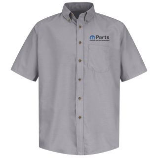 Mopar Mens Short Sleeve Poplin Dress Shirt - 1504SV-
