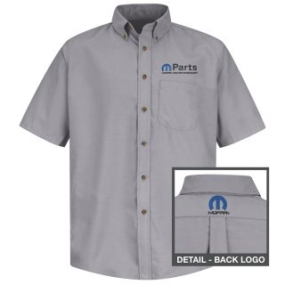 Mopar Mens Short Sleeve Poplin Dress Shirt - 1505SV-