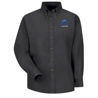 Mopar Womens Long Sleeve Poplin Dress Shirt - 1509BK-