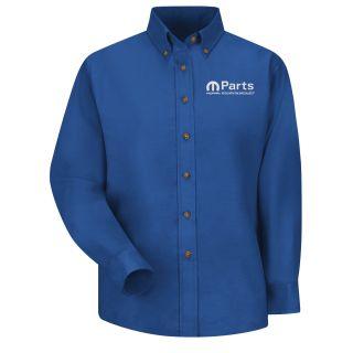 Mopar Womens Long Sleeve Poplin Dress Shirt - 1513RB-