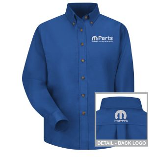 Red Kap® Branded Industrial Auto 1514RB Mopar F LS Poplin Shirt - RB-Red kap