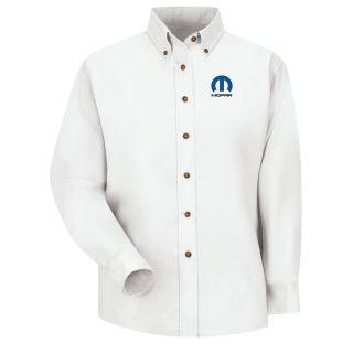 Mopar F LS Poplin Shirt - WH-