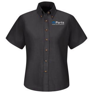 Mopar Womens Long Sleeve Poplin Dress Shirt - 1519BK-