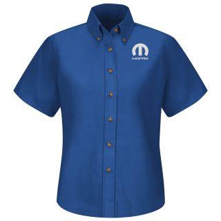 Mopar Womens Long Sleeve Poplin Dress Shirt - 1521RB-