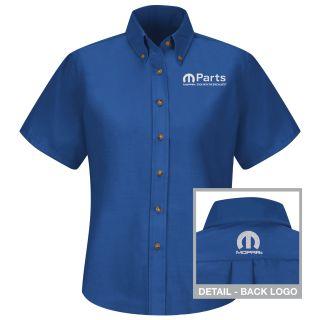 Mopar Womens Long Sleeve Poplin Dress Shirt - 1523RB