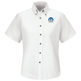 Mopar Womens Long Sleeve Poplin Dress Shirt - 1524WH-