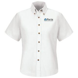 Mopar Womens Long Sleeve Poplin Dress Shirt - 1525WH-