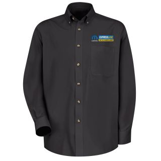 Mopar Express Lane Mens Long Sleeve Meridian Performance Twill Shirt - 1528BK-