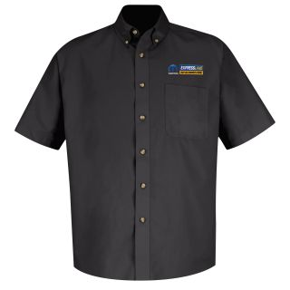 Mopar Express Lane Mens Short Sleeve Meridian Performance Twill Shirt - 1531BK-