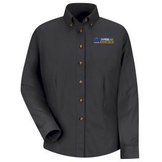 Mopar Express Lane Womens Long Sleeve Meridian Performance Twill Shirt - 1534BK-