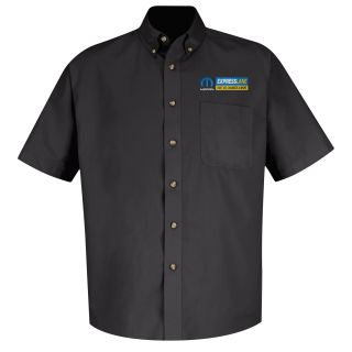 Mopar Express Lane Womens Long Sleeve Meridian Performance Twill Shirt - 1537BK-