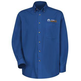 Mopar Express Lane Mens Long Sleeve Meridian Performance Twill Shirt - 1552RB-Red Kap®