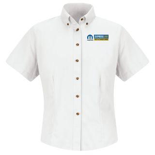 Mopar Express F SS Twill Shirt - WH-Red Kap®