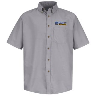 Mopar Express Lane Mens Long Sleeve Poplin Dress Shirt - 1603SV-