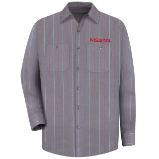 Nissan M LS Workshirt - CR-Red Kap®