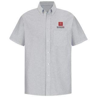 Toyota Mens Short Sleeve Executive Oxford Dress Shirt - 1652GS-