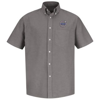 Volvo M SS Oxford Shirt - GY-Red Kap®