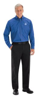 Volkswagen Mens Long Sleeve Poplin Dress Shirt - 1726RB-