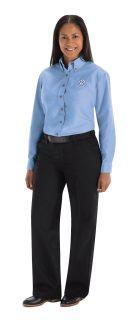 Volkswagen Womens Long Sleeve Poplin Dress Shirt - 1747LB-