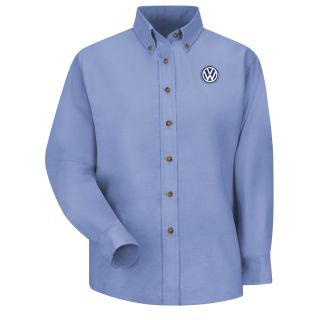 Volkswagen Womens Long Sleeve Poplin Dress Shirt - 1749LB-