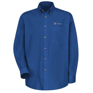 Volkswagen Service Xpress Mens Long Sleeve Meridian Performance Twill Shirt - 1769RB-