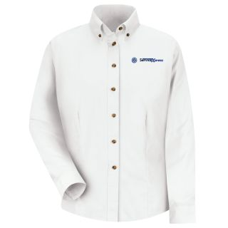 Volkswagen Service Xpress Womens Long Sleeve Meridian Performance Twill Shirt - 1773WH-