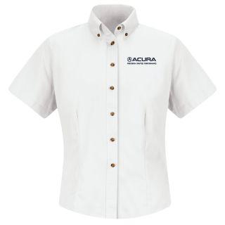 Acura Precision F SS Twill Shirt - WH-