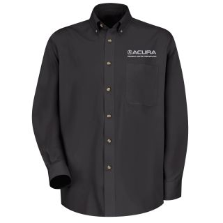 Acura Precision M LS Twill Shirt - BK-Red Kap®