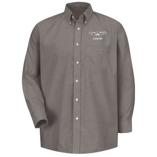 Genesis M LS Oxford Shirt -GY-Red Kap®