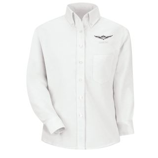 Genesis F LS Oxford Shirt -WH-