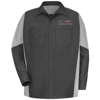 Buick GMC Long Sleeve Crew Shirt - 1922CG-Red kap