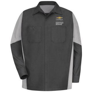 Chevrolet Long Sleeve Crew Shirt - 1924CG-Red Kap®