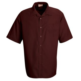 Microfiber Convertible Collar Shirt-