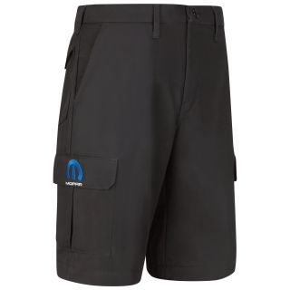 Red Kap® Branded Industrial Auto Mopar M Cargo Shorts - BK-Red kap