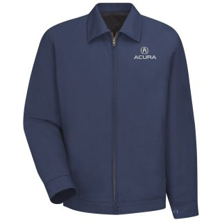 Acura Slash Pocket Technician Jacket - 3100NV-Red kap