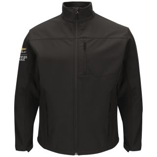 Chevrolet Mens Deluxe Soft Shell Jacket - 3108BK-